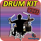 Drum Kit Bateria Musical icon