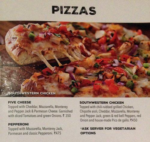 Chili's Grill & Bar menu 13