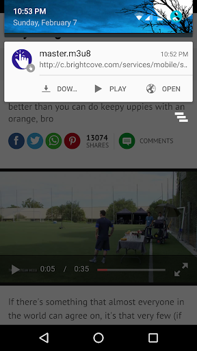 Xposed One Tap Video Download 5.6 screenshots 1