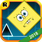 Geometry Sponge Dash Runner