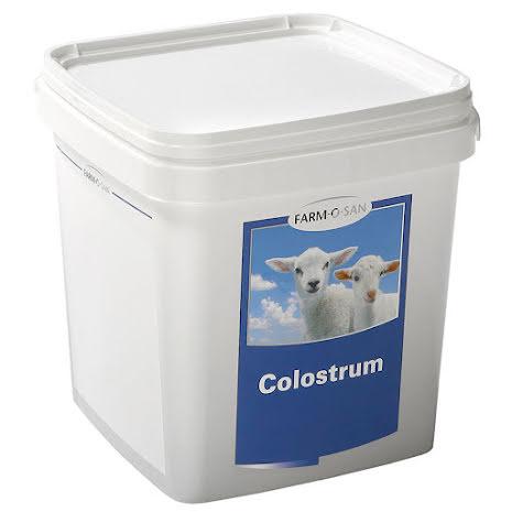 Råmjölksersättning för lamm Farm-O-San 1,5 kg Hink