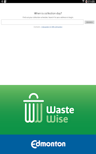 Edmonton Waste Wise- screenshot thumbnail