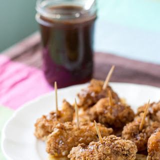 Fried Chicken and Waffles with Maple Butter Syrup
