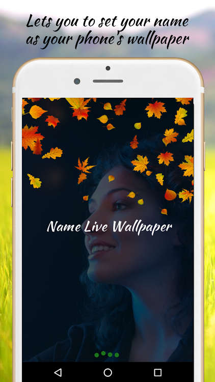 Name Live Wallpaper Android Aplicaciones Appagg