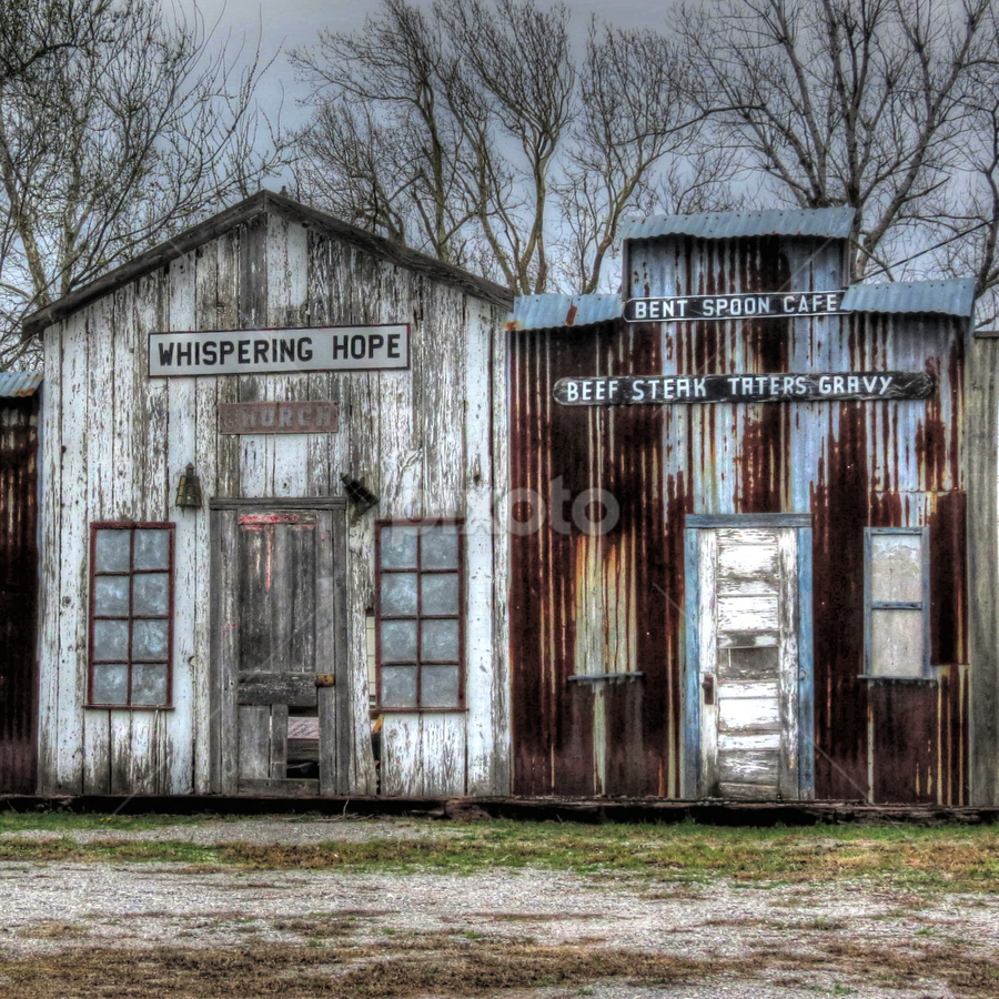 Whispering Hope by Nancy Tharp - Buildings & Architecture Decaying & Abandoned