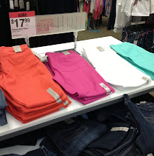 Photo: What a great price for colored jeans! I'll take one of each please :)