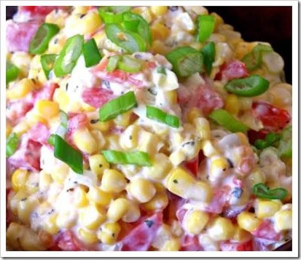 Creamy Ranch Corn Salad Recipe