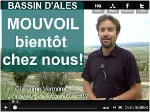 Photo: Vidéo...Vidéo explicative sur les explorations d'huiles lourdes en Ardèche et Gard. Présentation des techniques utilisées et du permis ''bassin d'Alès'' attribué par Jean-Louis Borloo à la société Mouvoil. http://www.dailymotion.com/video/xk0ul1_exploration-d-huiles-lourdes-le-permis-du-bassin-d-ales_tech#from=embediframe