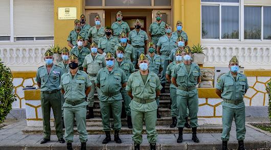 Cumbre de mandos legionarios en Viator