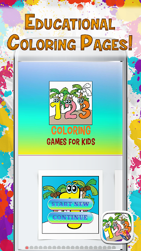 Download 123 Coloring Games For Kids For PC