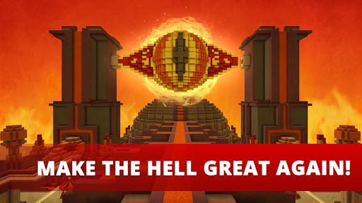 Hell Craft:🔥 My Big Crafting & Building Games 3D Screenshot