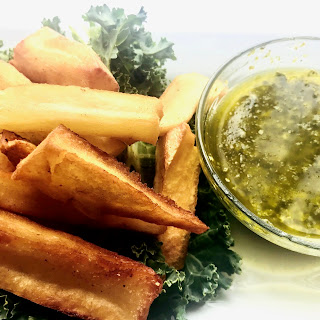 Fried Yucca Fries Recipe