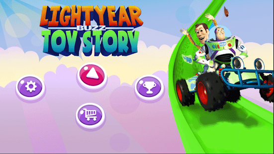 Toy Story Buzz Lightyear Cars Racing Game 2018