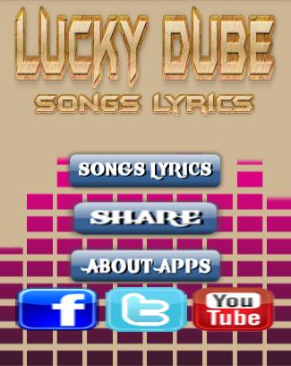 I ve Got Lucky Dube Lyrics
