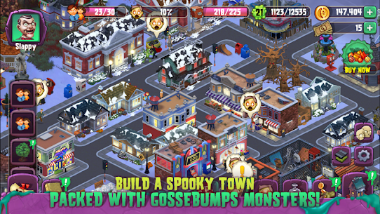 Goosebumps HorrorTown – The Scariest Monster City!  Apk Download For Android and Iphone 7