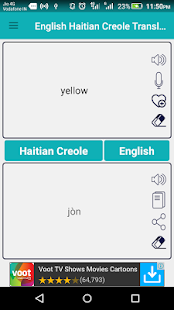 English Haitian Creole Translator apk screenshot 2
