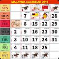 Calendar 2019 Malaysia download