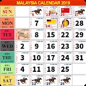 Calendar 2019 Malaysia Mod