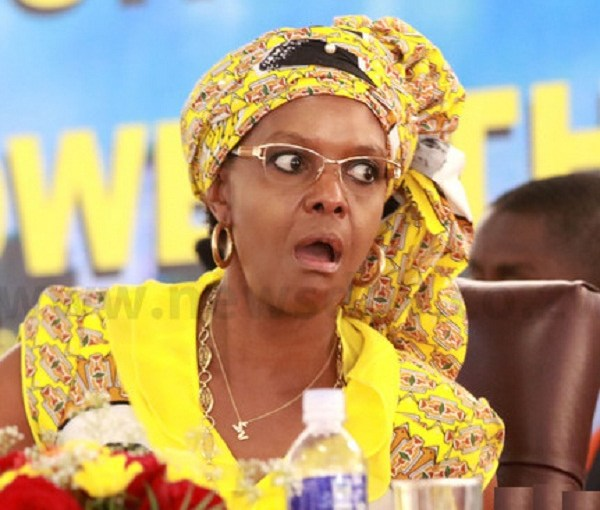 Grace Mugabe in disguise. Image: TWITTER