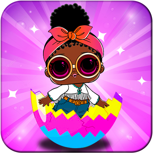 Magic Lol Surprise Queen Eggs Dolls Game 👑