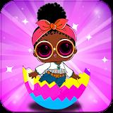 Magic Lol Surprise Queen Eggs Dolls Game 👑
