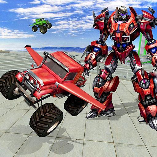 Flying Monster Truck Wars