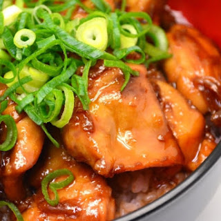 Rich and Audacious Teriyaki Chicken Rice Bowl