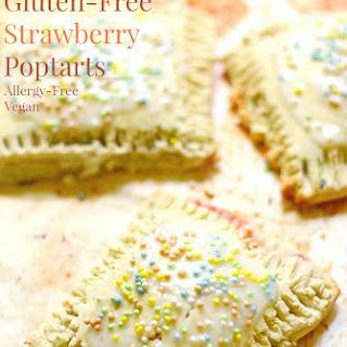 Homemade Gluten-Free Strawberry Poptarts (Allergy-Free, Vegan).
