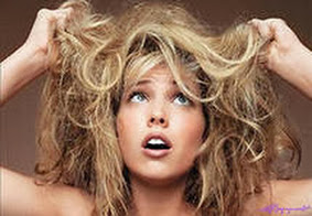 Уход за волосами поврежденными волосами