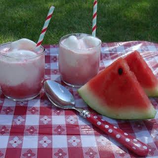 Watermelon Float.