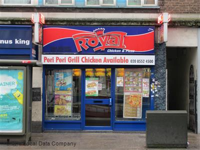 Royal Chicken Pizza On Plashet Grove Fast Food Takeaway