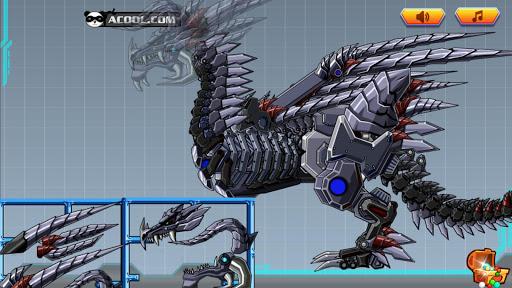 玩具机器人大战:机械暗黑骨龙