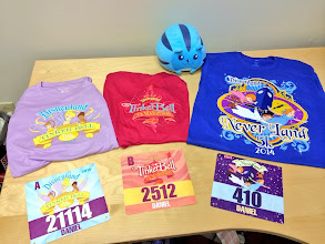 Photo: runDisney did a great job with the runners SWAG!