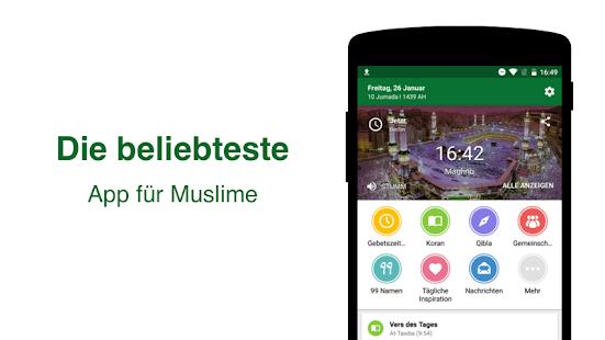Muslim Pro - Gebetszeit, Azan, Koran, Namaz, Qibla Screenshot