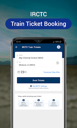 RailYatri - Live Train Status, PNR Status, Tickets screenshot 2