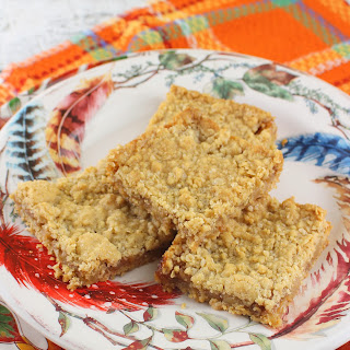 Apple Oatmeal Bars.