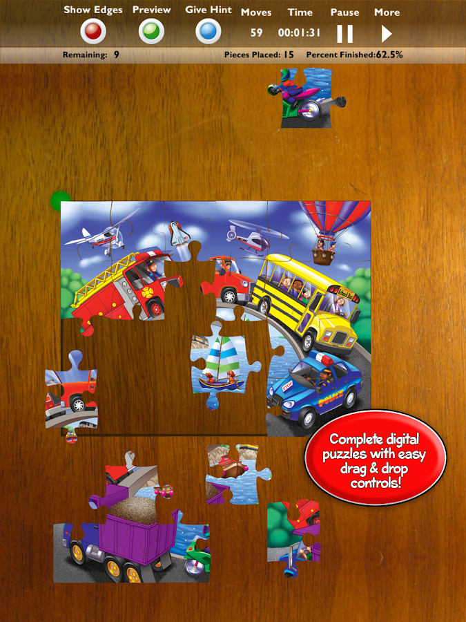 Jigsaw Puzzles by MasterPieces- screenshot