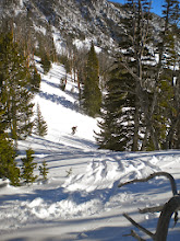Photo: One of the skiers we encountered