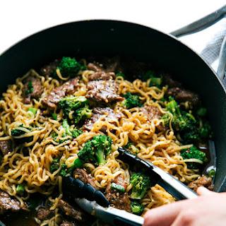 Skillet Beef and Broccoli Ramen Recipe