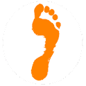 Set a foot icon