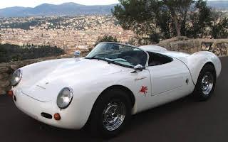 Porsche 550 RS Spyder Rent Provence-Alpes-Côte d'Azur