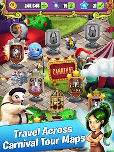 Mahjong Magic: Carnival World Tour Ekran Görüntüsü