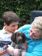 Photo: Jewel samen met de kleinkinderen