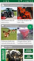 Screenshot of Agri farm machinery search