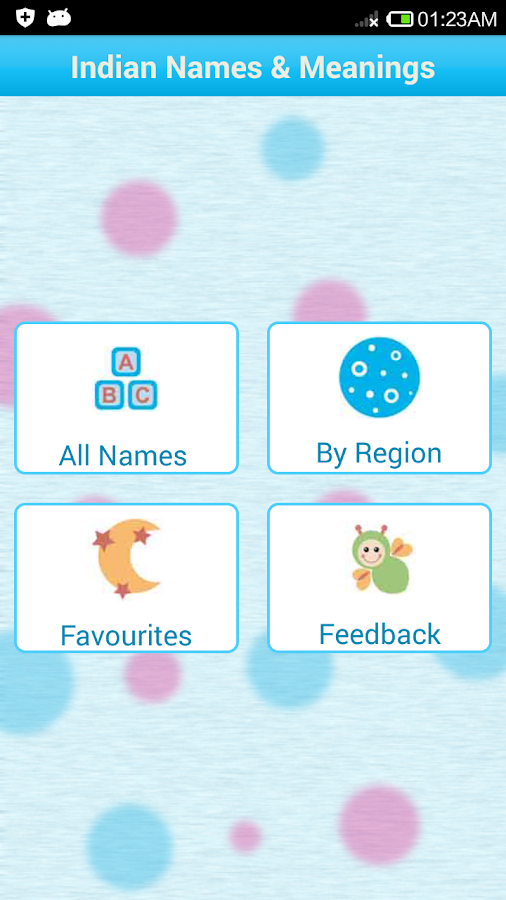 Indian baby names meaning android apps on google play indian baby names meaning screenshot negle Images