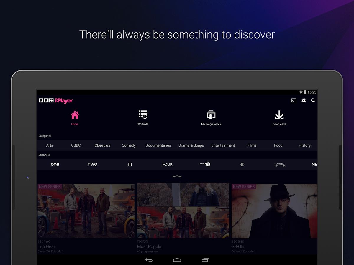 BBC iPlayer Help - How do I update the BBC Media Player app