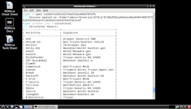 Photo: Viper allows REMnux users to maintain a malware sample repository and examine its contents in a convenient manner. The Viper project is led byClaudio Guarnieri.