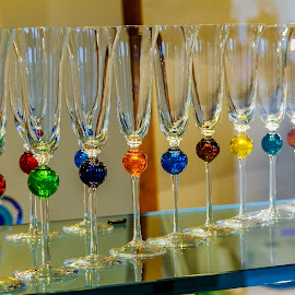 Murano glasses by Simon Shee - Artistic Objects Glass ( 2017, shop, glass, venice, murano, italy,  )