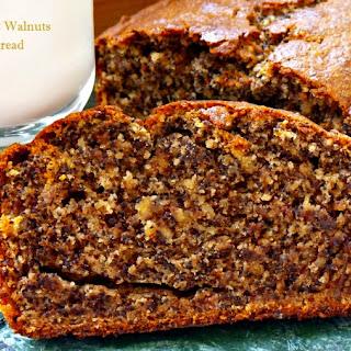 Poppy Seed Walnut Banana Bread