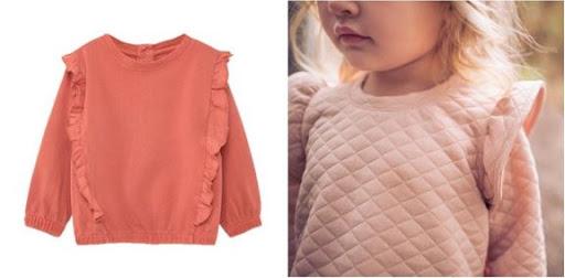 Tendance mode enfant sweater fille bébé